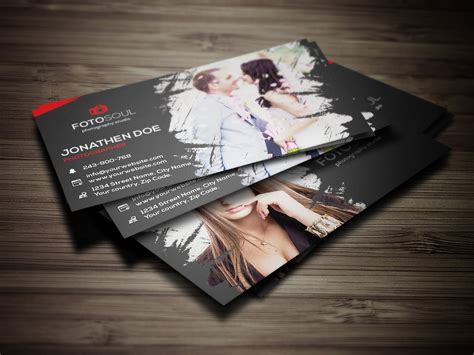 free card templates for photographers photography business card 13 business card templates
