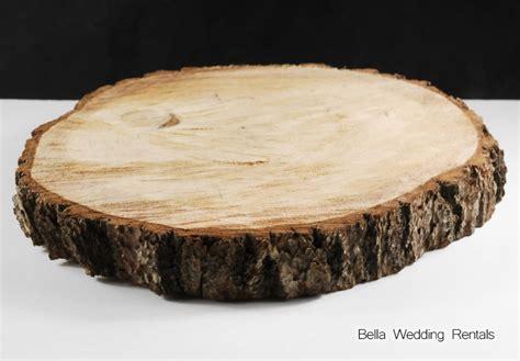 Wood Slices and Stumps   Wedding Decor