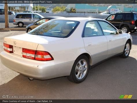 lexus es300 white 2001 lexus es 300 in white pearl photo no