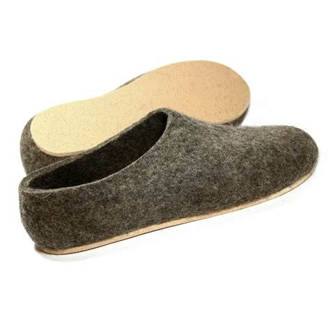 felt forma s eco brown cork wool shoes at km