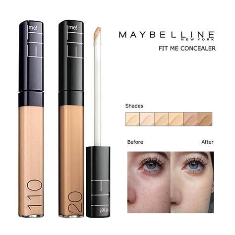 Maybelline Fit Me Concealer Di Guardian maybelline fit me concealer favorite 6