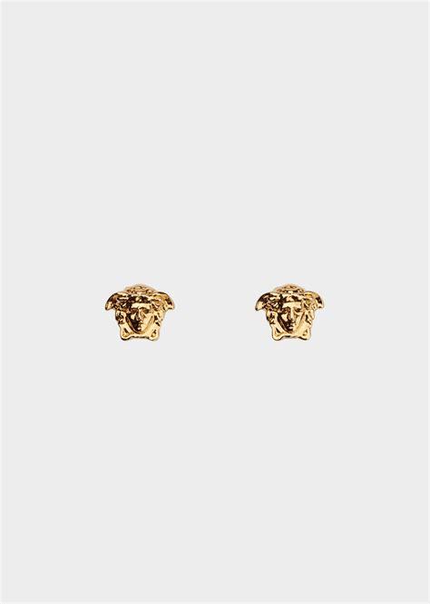 versace medusa stud earrings for us store