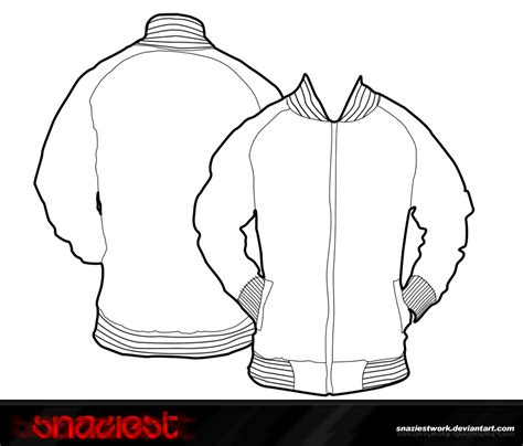 baseball jacket template my jacket