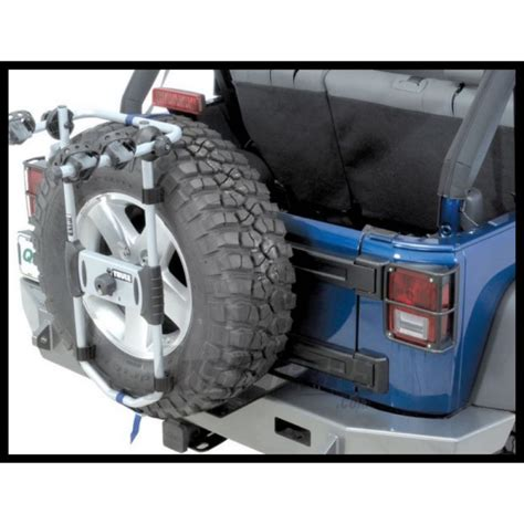 Thule Bike Rack Canadian Tire by Jeep Parts Buy Thule Spare Me Spare Tire Bike Carrier With