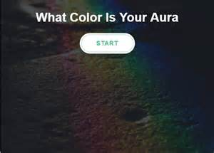 aura color test aura test