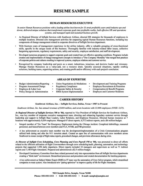 Resume For Career Change To Human Resources Human Resources Resume Objective Resume Format
