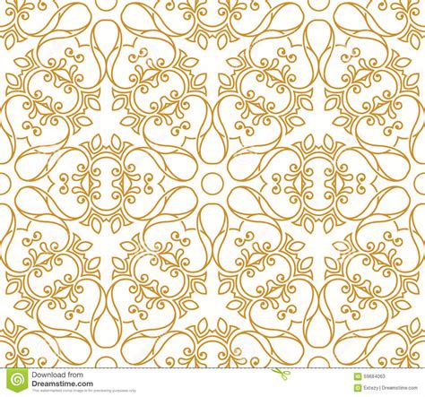 seamless pattern in islamic style seamless background in arabic style stock vector image