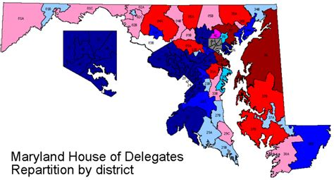 maryland electoral map maryland legislative redistricting maps proposed
