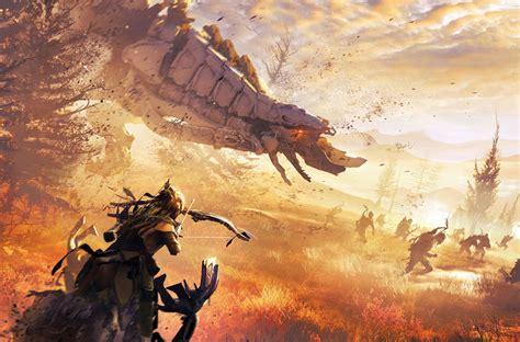 the art of horizon the art of horizon zero dawn review impulse gamer