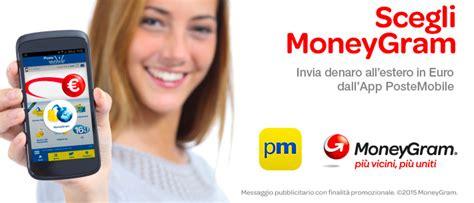 servizio clienti poste mobili servizio moneygram postemobile