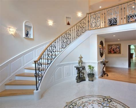 elegant staircases elegant whole house remodel traditional staircase