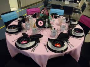 50 s table decorations 50s decorations theme ideas 50s decorations 50s theme and