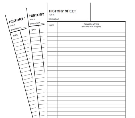 Clinical Notes Sheets