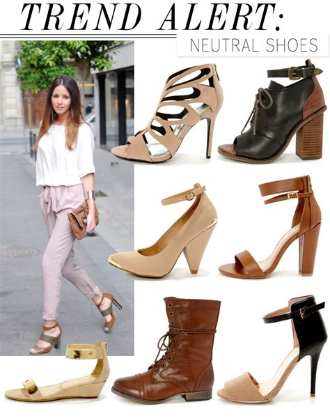 Trend Alert by Trend Alert Neutral Shoes For 2013 Lulus Fashion