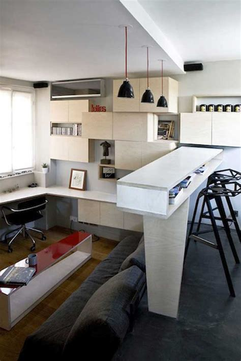 how large is 130 square feet 130 square foot micro apartment in paris big tricks in a