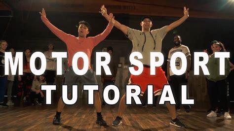 tutorial dance live motor sport cardi b nicki minaj dance tutorial matt