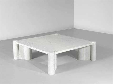 Gae Aulenti Marble Jumbo Coffee Table For Knoll Gae Aulenti Coffee Table
