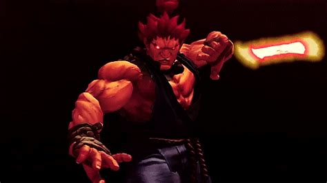 Fighter Akuma Black akuma fighter