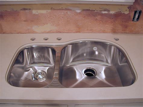how to install a kitchen sink kitchen how to install undermount sink at modern kitchen
