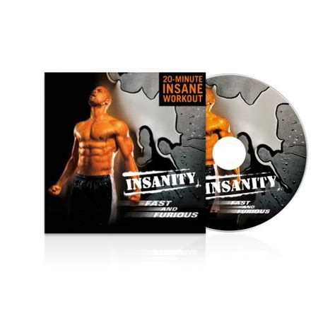 insanity fast and furious dvd workout home workout program