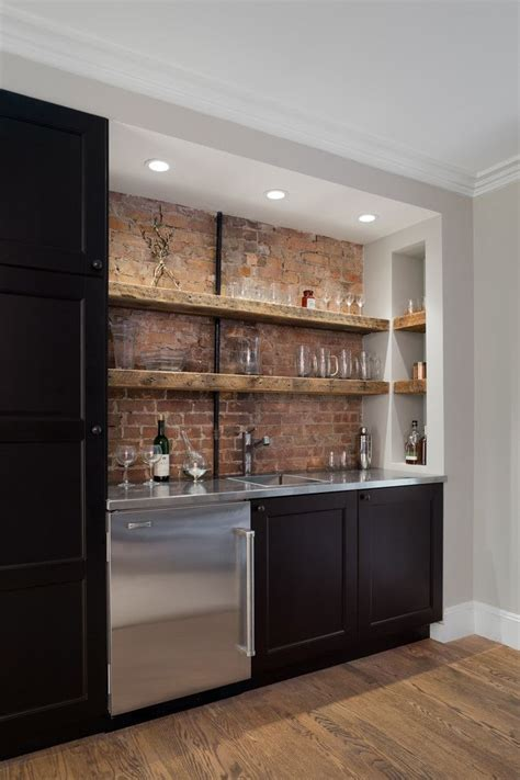 25 best ideas about bar shelves on shelves