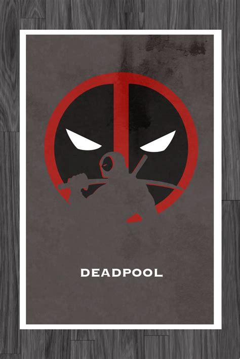 deadpool poster deadpool poster 11x17