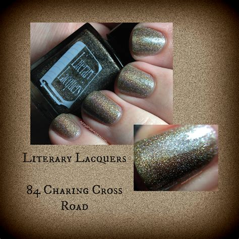 friday flashback 84 charing cross road by helene hanff i just like to read ashley is polishaddicted literary lacquers 84 charing cross road