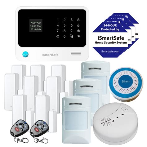 best wireless home security systems from ismartsafe