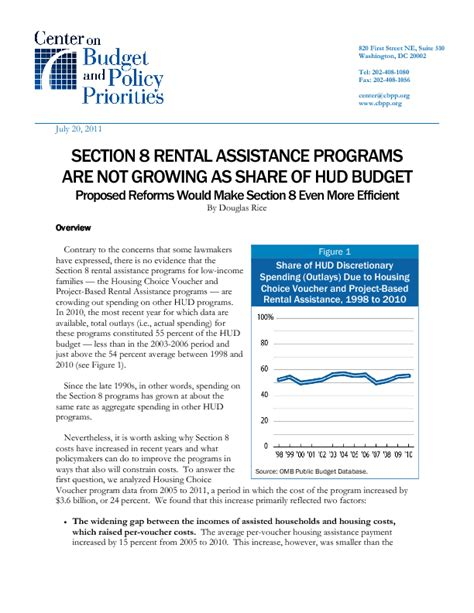 section 8 rent to own program section 8 rental assistance programs are not growing as