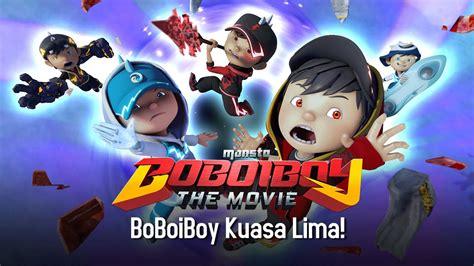 boboiboy the movie klip eksklusif bangun boboiboy di pawagam 3 mac klip boboiboy the movie boboiboy kuasa lima doovi