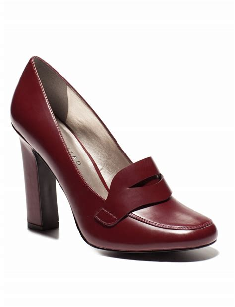 loafer high heels high heel loafers womens shoes the limited