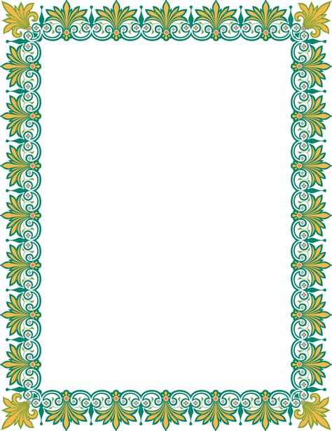 frame design islamic islamic design frame www imgkid com the image kid has it