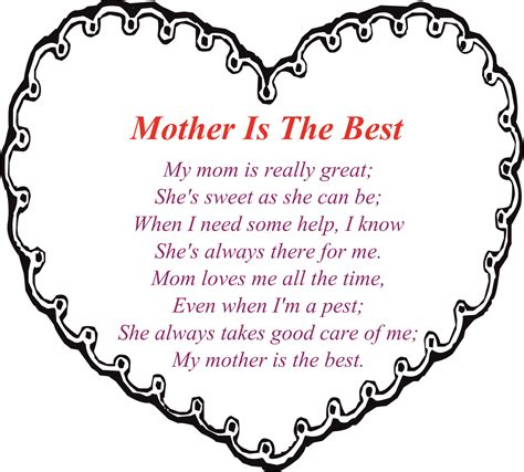 printable children s poems impressive mothers day poems for kids cute from children