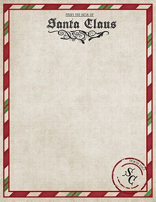 free letters from santa letter from santa printable 1251