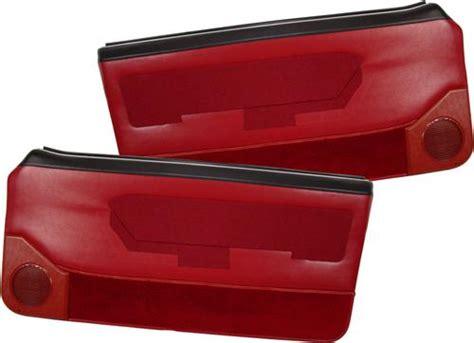 Convertible De 3604 by Acme Mustang Deluxe Door Panels For Convertible W Power