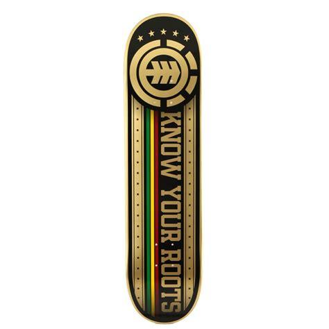 element deck element your roots skateboard deck evo outlet