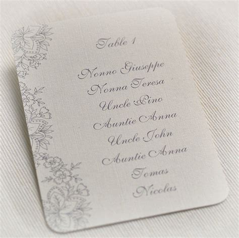 wedding seating arrangement cards wedding table plan cards or table numbers by beautiful day