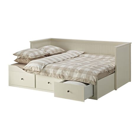 single day bed ikea hemnes white with storage drawers
