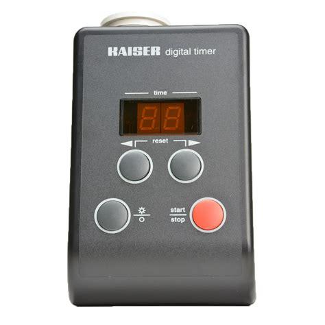 Kaiser Timer Digital Aquascape kaiser digital darkroom exposure timer freestyle photographic supplies