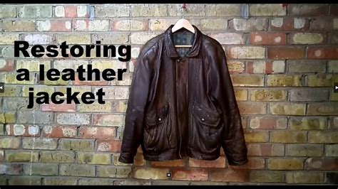 Restoring A Leather by Restoring A Leather Jacket