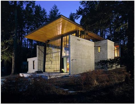 modern cabins industrial chic modern cabin with giant window for a