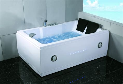 bathtub with jacuzzi jets 2 person 72 quot l bathtub whirlpool tub spa hydrotherapy