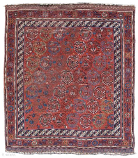 Pap Rugs by Afshar Rug Colorful Diagonal Rows Of Boteh Paisleys Are