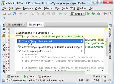 creating a django project in windows pycharm create a django project in pycharm 郝一二三 博客园