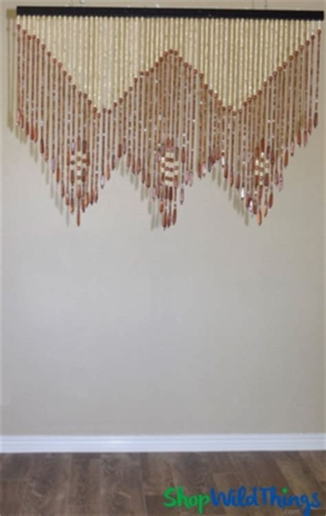 bead shops in melbourne wood beaded window valance 60 strands shopwildthings