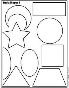 shapes on pinterest coloring pages shape and bridges