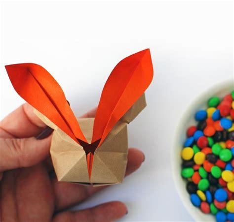 Origami Basteln Mit Papier by Origami Hase Falten Anleitung Und Inspirierende