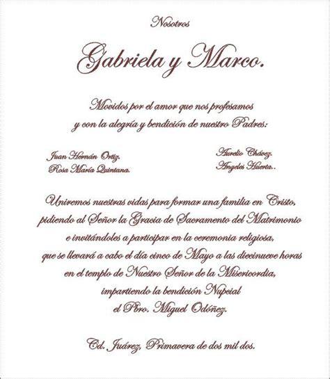 ceremonias civiles textos las 25 mejores ideas sobre texto invitaciones de boda en
