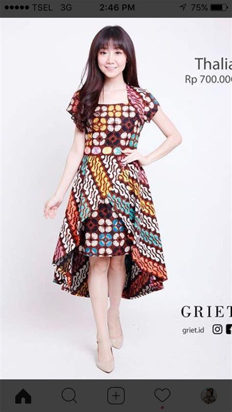 pin oleh rika thea  luv batik indonesia model baju