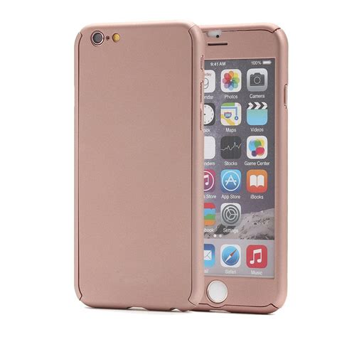 iphone 6s pandawell 360 degree all protection slim with